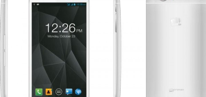 Micromax Canvas Turbo A250 official picture