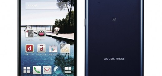 Sharp Aquos Phone Zeta SH-01F in navy blue
