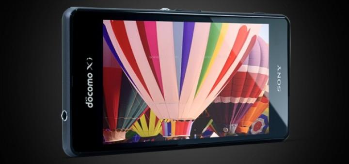 Sony Xperia Z1 f device promo picture