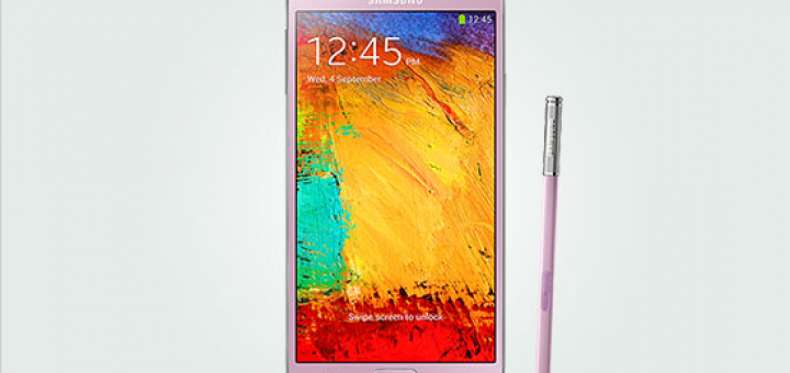 The pink variant of Galaxy Note 3 phablet arrives in the UK