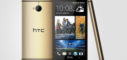 HTC One in gold-colored shell will be launched soon
