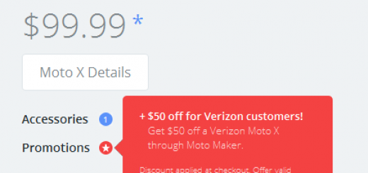 Verizon has announced a new promotion for Moto X through Moto Maker with $50 cut in the price