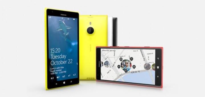 Nokia officially presented the advanced phablet Nokia Lumia 1520