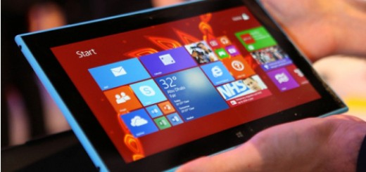 Nokia Lumia 2520 sports sleek design with ergonomic shape and 10.1-inches full HD display