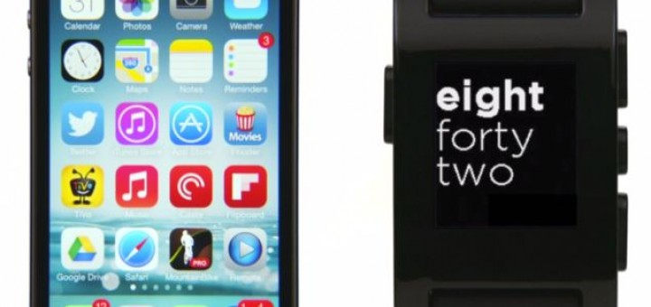 Pebble announced iOS 7 support for the smartwatch and a new SDK