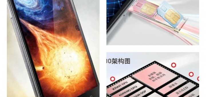 Lenovo Vibe Z is presented with its 5.5-inches 1080p display and Snapdragon 800 chip