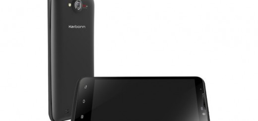 Karbonn Titanium S7 front and back