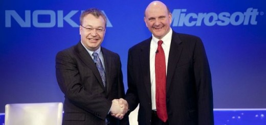 Nokia and Microsoft CEO meeting