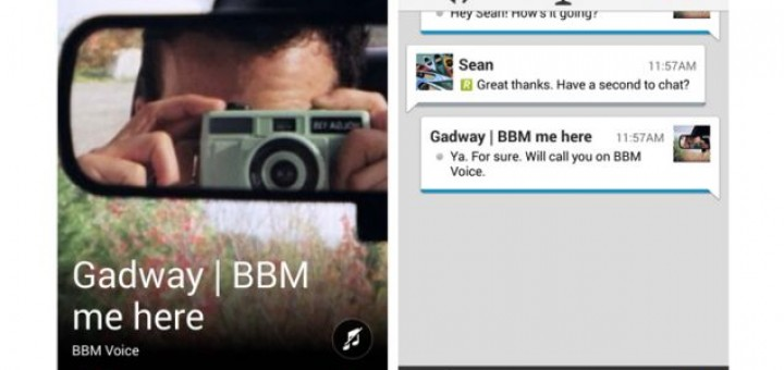 BBM app for iOS and Android will be enriched with new features