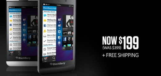 BlackBerry Z10 will be available for purchase for only $199 on Cyber Monday