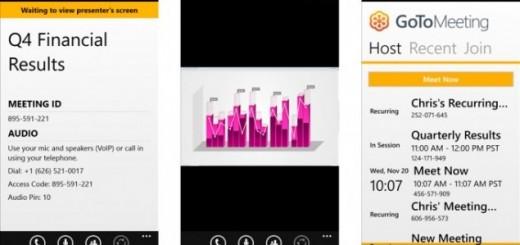 GoToMeeting App for Windows Phone