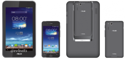 PadFone mini 4.3 captured in render photos that emerged on the web