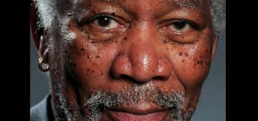 The artist Kyle Lambert presents unique video for the creating of photo-realistic painting of Morgan Freeman