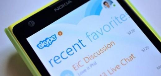 Skype Windows Phone update