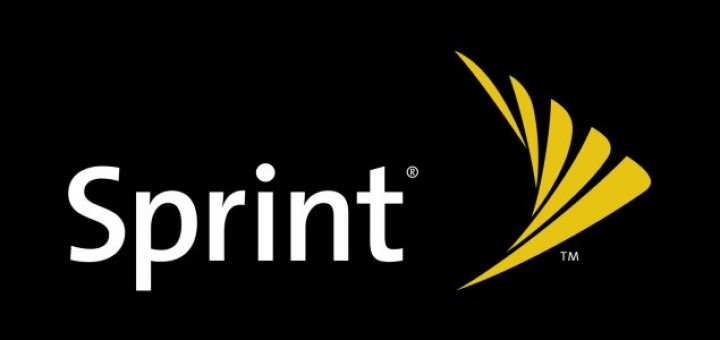 Sprint logo of the US carrier