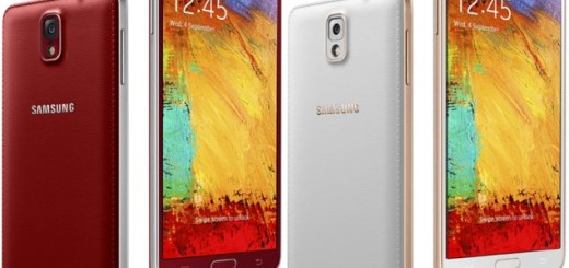 Galaxy Note 3 will be available in two more color options in Q1 – red and rose gold