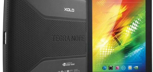Xolo Play Tegra Note front and back
