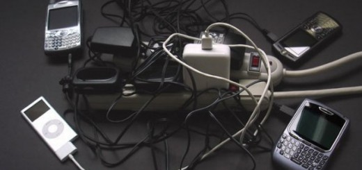 many cell phone chargers