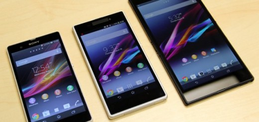 Sony Xperia Z1 and Z Ultra