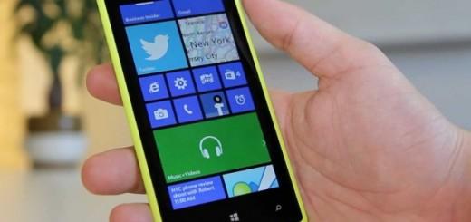 an HTC device running Windows Phone