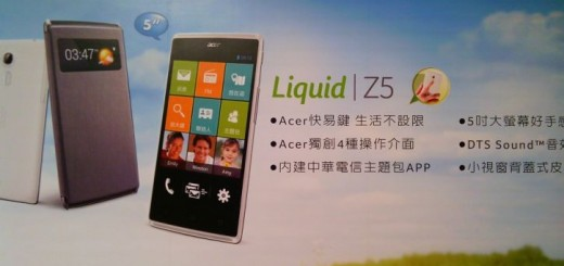 Acer Liquid Z5 released in Taiwan and Europe