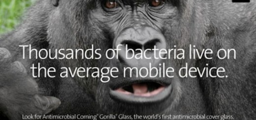Antimicrobial Corning Gorilla Glass is unveiled at CES 2014