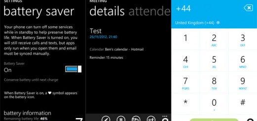 Battery life extension with the saver feature in Windows Phone 8