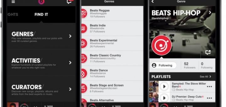Beats Music on iPhone 5S