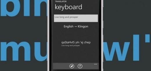 Bing Translator app
