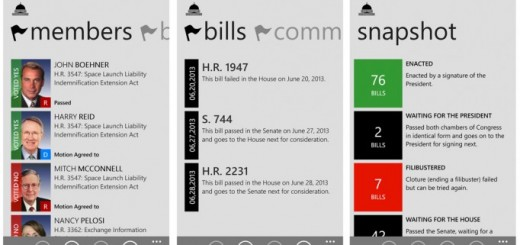 Informed American app for Windows Phone 8
