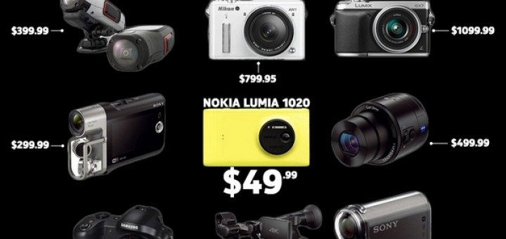 Nokia Lumia 1020 for AT&T at price of $49.99 with two-year contract