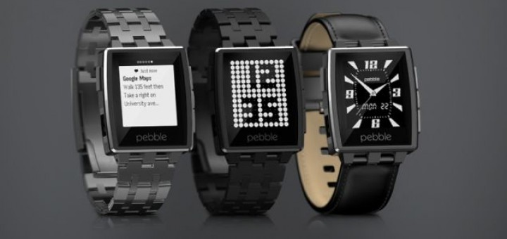 Pebble Steel is one of the most elegant and impressive smartwatches presented at CES 2014