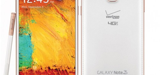 Samsung Galaxy Note 3 Rose Gold will hit the shelves of Verizon