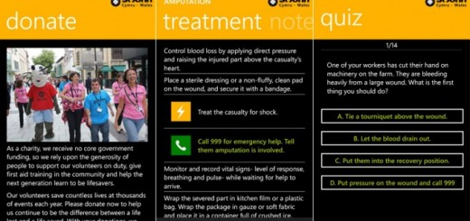 St John Cymru Wales app for emergencies