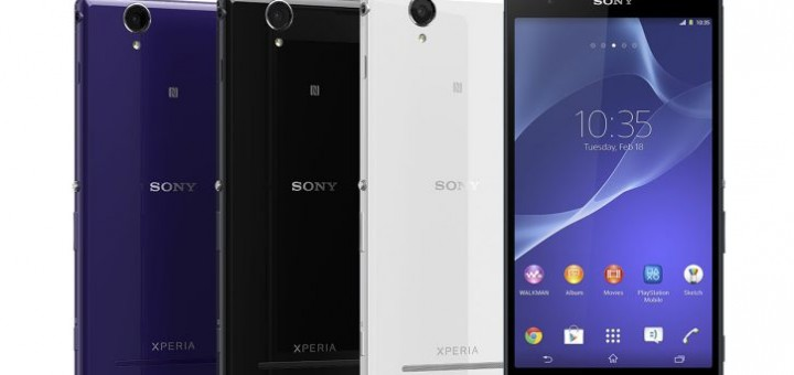 Xperia T2 phone by Sony