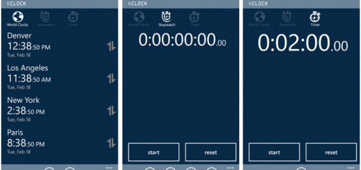 Keeping track of time with a Windows Phone app