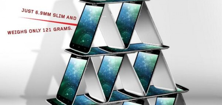 Lenovo Vibe X revealed once again in by the company in creative images