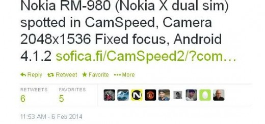 New leak of Nokia X from CamSpeed sheds more light on the specs and the camera