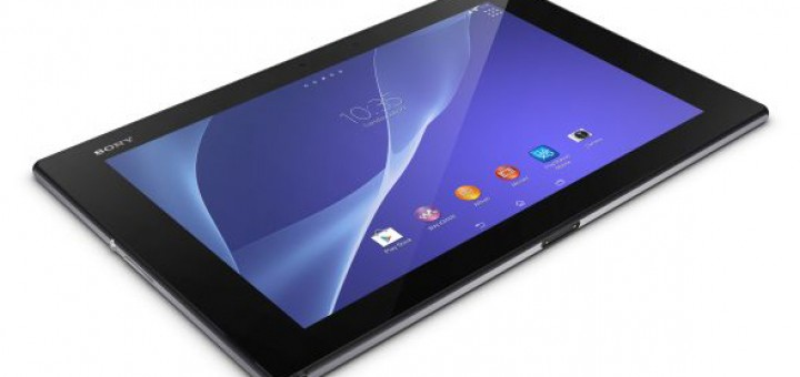 Sony presented the advanced slate Xperia Z2 Tablet