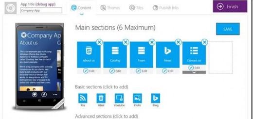 Windows Phone App Studio image 1