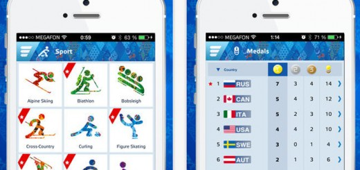 sochi winter olympics android applications