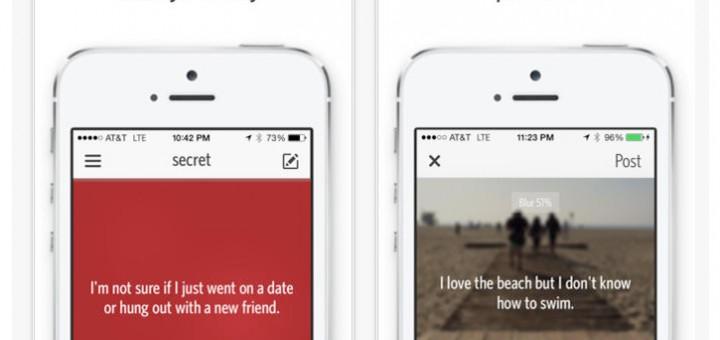 secret app for ios