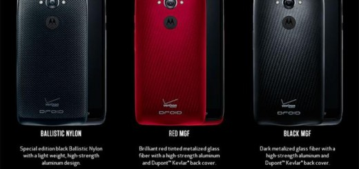 Official Droid Turbo Line-up