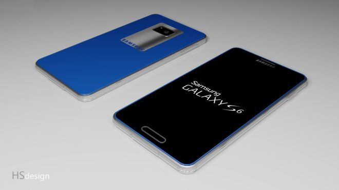 Concept of Galaxy S6